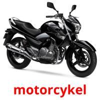 motorcykel picture flashcards