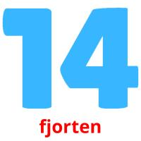 fjorten picture flashcards