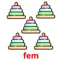 fem picture flashcards