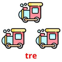 tre picture flashcards