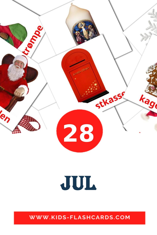28 Jul Picture Cards for Kindergarden in dansk