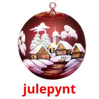 julepynt picture flashcards