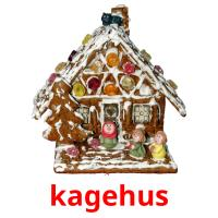 kagehus picture flashcards
