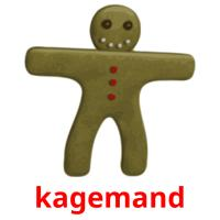kagemand picture flashcards