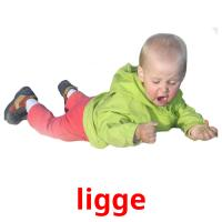 ligge picture flashcards
