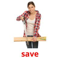 save picture flashcards