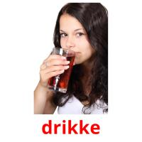 drikke picture flashcards