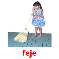 feje picture flashcards
