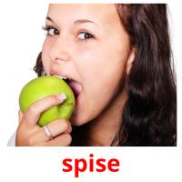 spise picture flashcards