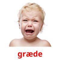 græde picture flashcards