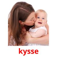 kysse picture flashcards