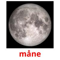 måne picture flashcards