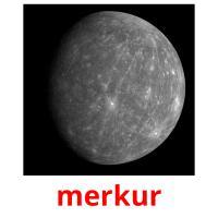 merkur picture flashcards