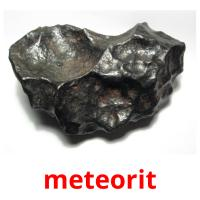 meteorit picture flashcards