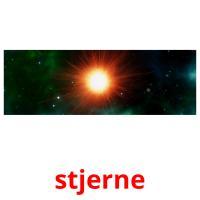 stjerne picture flashcards