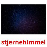 stjernehimmel picture flashcards