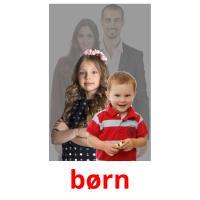 børn picture flashcards