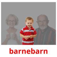 barnebarn picture flashcards
