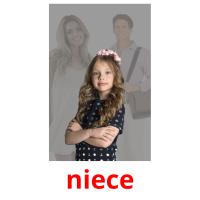 niece picture flashcards