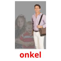 onkel picture flashcards