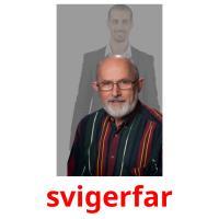 svigerfar picture flashcards