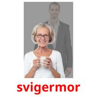 svigermor picture flashcards