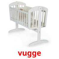 vugge picture flashcards