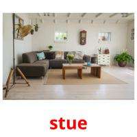 stue picture flashcards