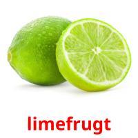 limefrugt picture flashcards