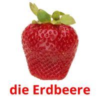 die Erdbeere picture flashcards