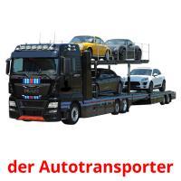 der Autotransporter picture flashcards