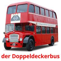 der Doppeldeckerbus picture flashcards