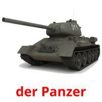 der Panzer picture flashcards