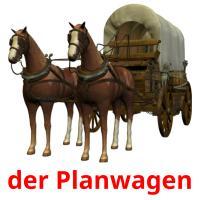der Planwagen picture flashcards