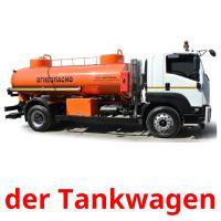 der Tankwagen picture flashcards
