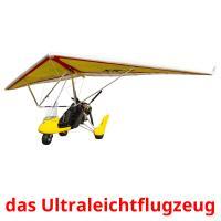 das Ultraleichtflugzeug picture flashcards