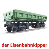der Eisenbahnkipper picture flashcards