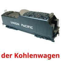 der Kohlenwagen picture flashcards