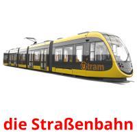 die Straßenbahn picture flashcards