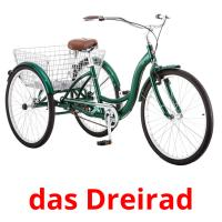 das Dreirad picture flashcards