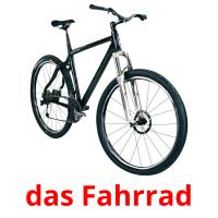 das Fahrrad picture flashcards