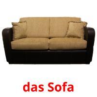 das Sofa picture flashcards