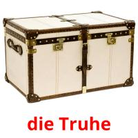 die Truhe picture flashcards