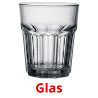 Glas picture flashcards