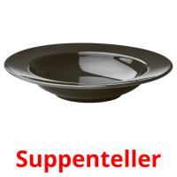 Suppenteller picture flashcards