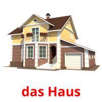 das Haus picture flashcards