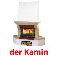 der Kamin picture flashcards