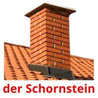 der Schornstein picture flashcards
