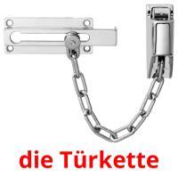die Türkette picture flashcards