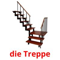 die Treppe picture flashcards